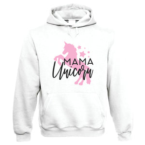 Mama Unicorn, Womens Funny Hoodie | Magical Novelty Perfect Gift Present For Mum Mom Mama Ladies | Mothers Day Birthday Christmas from Daughter Son Grandson
