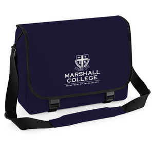 Marshall College Movie Inspired Messenger Bag, Cycling Courier Laptop College School Bag Satchel