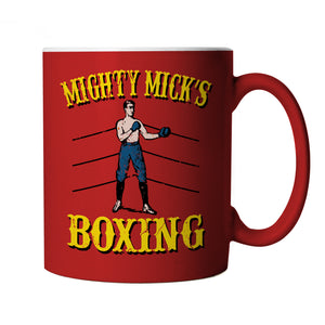 Mighty Micks Boxing Rocky Movie Inspired, Mug