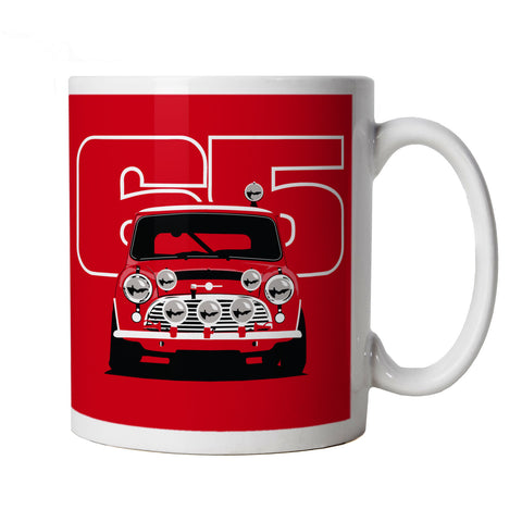 Classic Cooper S 65, Rally Car Mug