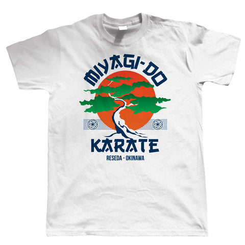 Miyagi Do Karate Movie Inspired Mens T-Shirt | Retro Gift Him Dad