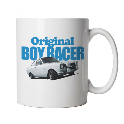 Mk1 Escort Original Boy Racer Mug | 1960s Motor Dream Car Automobile Drive RS Turbo | Timeless Retro Vintage Iconic Seminal Memorable | Mexico RS2000 Motoring Cup Gift