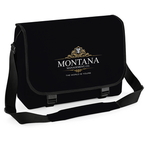 Montana Management Movie Inspired Messenger Bag, Cycling Courier Laptop College School Bag Satchel