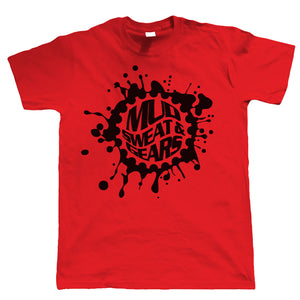 Mud Sweat And Gears Mountain Bike, Mens T-Shirt