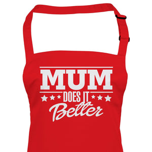 Mum Does It Better, Apron