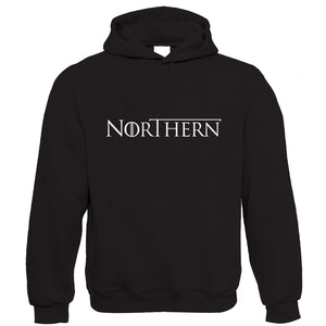 Northern GOT TV Movie Inspired Hoodie | TV Movie Fan Geek Fantasy Fiction Series | Winter North Remembers Stark Snow Ice Fire | Christmas Birthday Present Gift Him Her