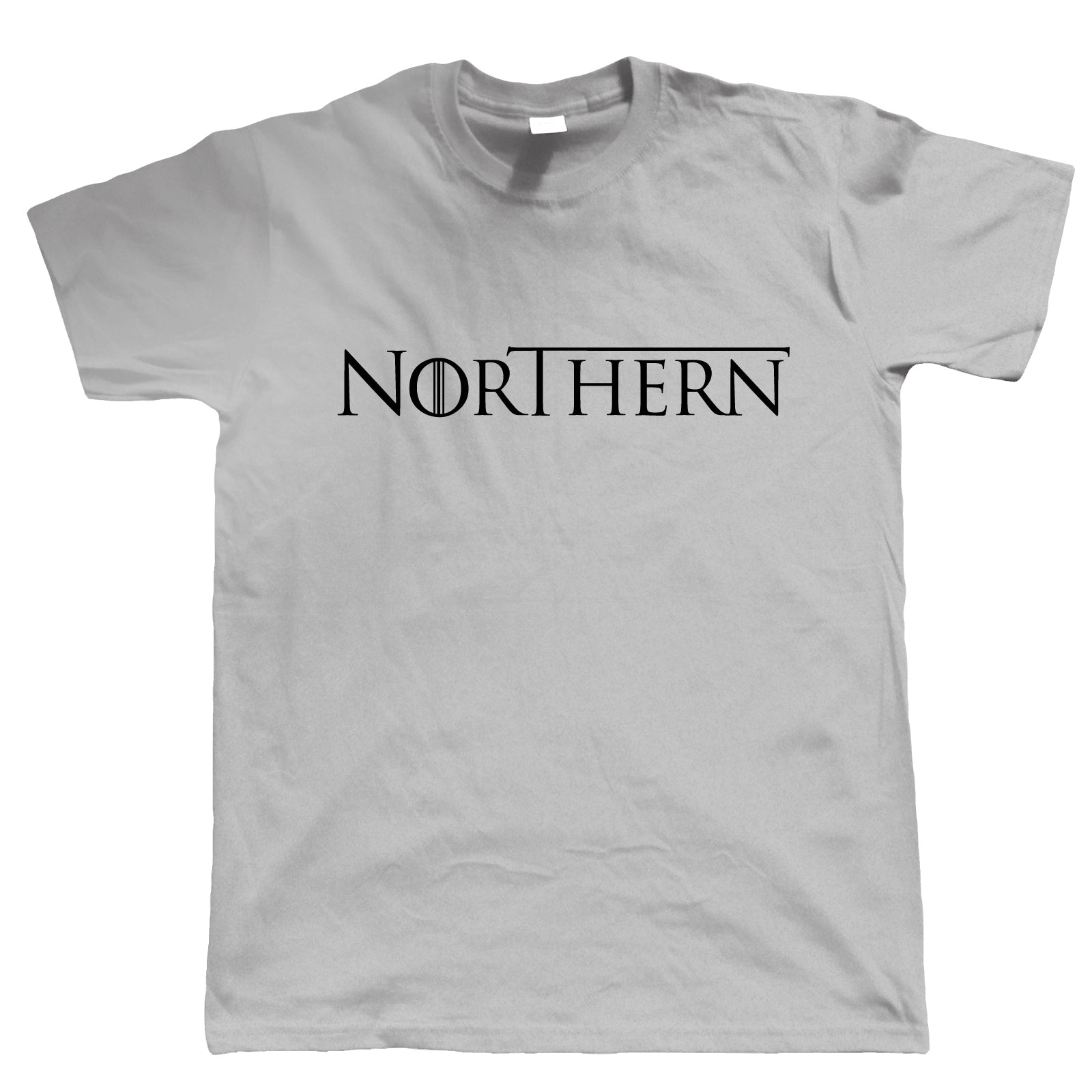 Northern GOT TV Movie Inspired Mens T-Shirt | TV Movie Fan Geek Fantasy Fiction Series | Winter North Remembers Stark Snow Ice Fire | Christmas Birthday Present Gift Him Dad