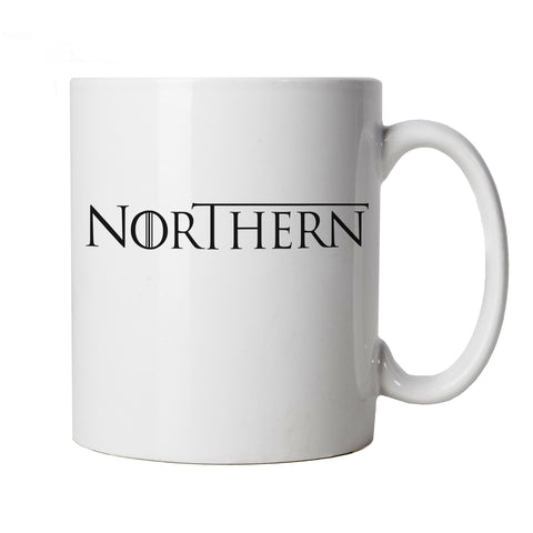 Northern GOT TV Movie Inspired Mug | TV Movie Fan Geek Fantasy Fiction Series | Winter North Remembers Stark Snow Ice Fire | Christmas Birthday Present Cup Gift
