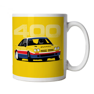 Manta, Classic Group B Rally Car Mug