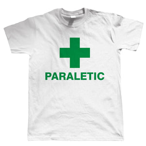 Paraletic, Funny Mens Drinking T Shirt
