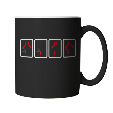 Predator Countdown Movie Inspired, Mug | Get To Da Choppa Chopper What The Hell Are You | TV & Movie Cup Gift