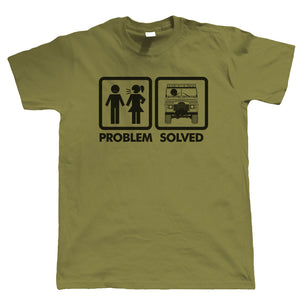 Problem Solved, Funny Off Roading Tshirt