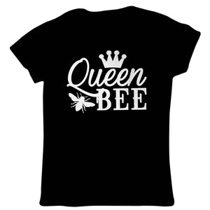 Queen Bee Crown, Womens Funny T Shirt | Funny Novelty Perfect Gift Present For Mum Mom Mama Ladies | Mothers Day Birthday Christmas from Daughter Son Grandson