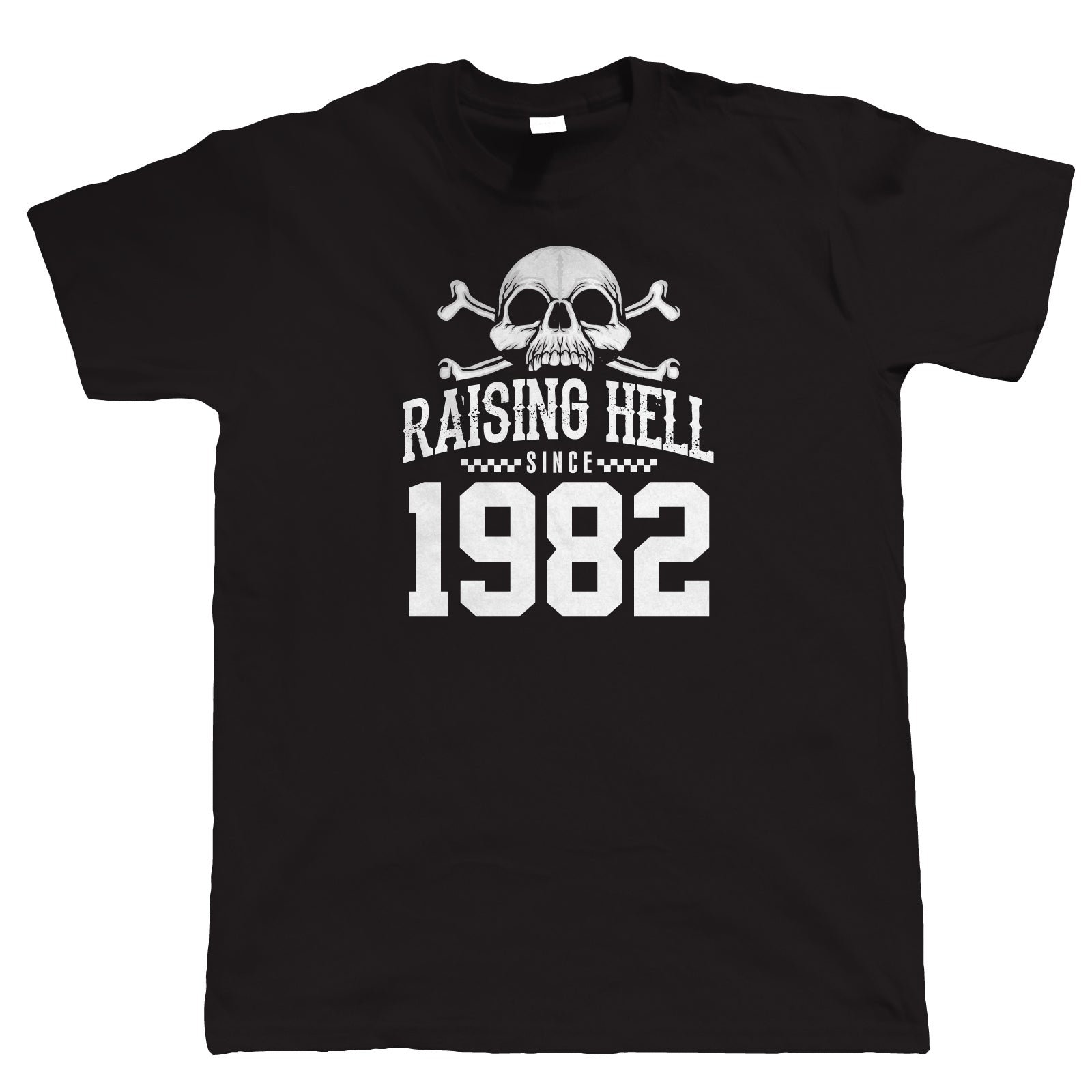 Raising Hell Since 1982, Mens Biker T-Shirt