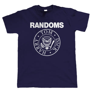 Randoms, Mens Music T Shirt