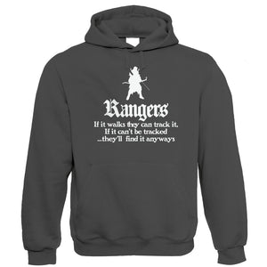 Rangers Hoodie | Dungeons Dragon D&D DND Pathfinder 3.5 Tarrasque | Crimson Throne Polyhedral D20 Fifth 5th Edition | Geek Gift Him Her Birthday