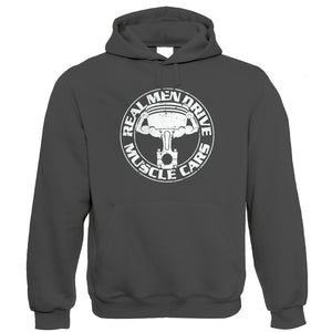 Real Men Drive Muscle Cars, Mens Hoodie