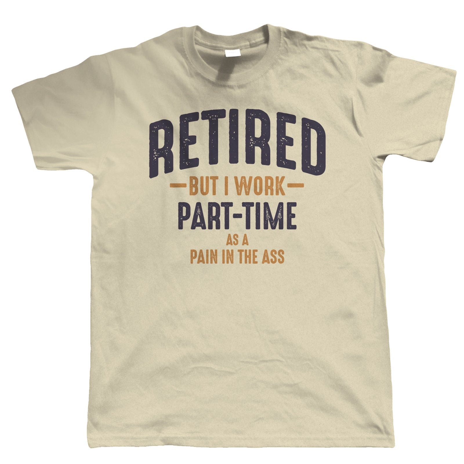 Retired Mens Funny T Shirt