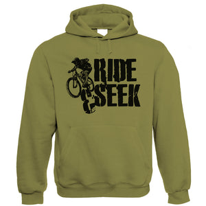 Ride & Seek, Mens Mountain Bike Hoodie