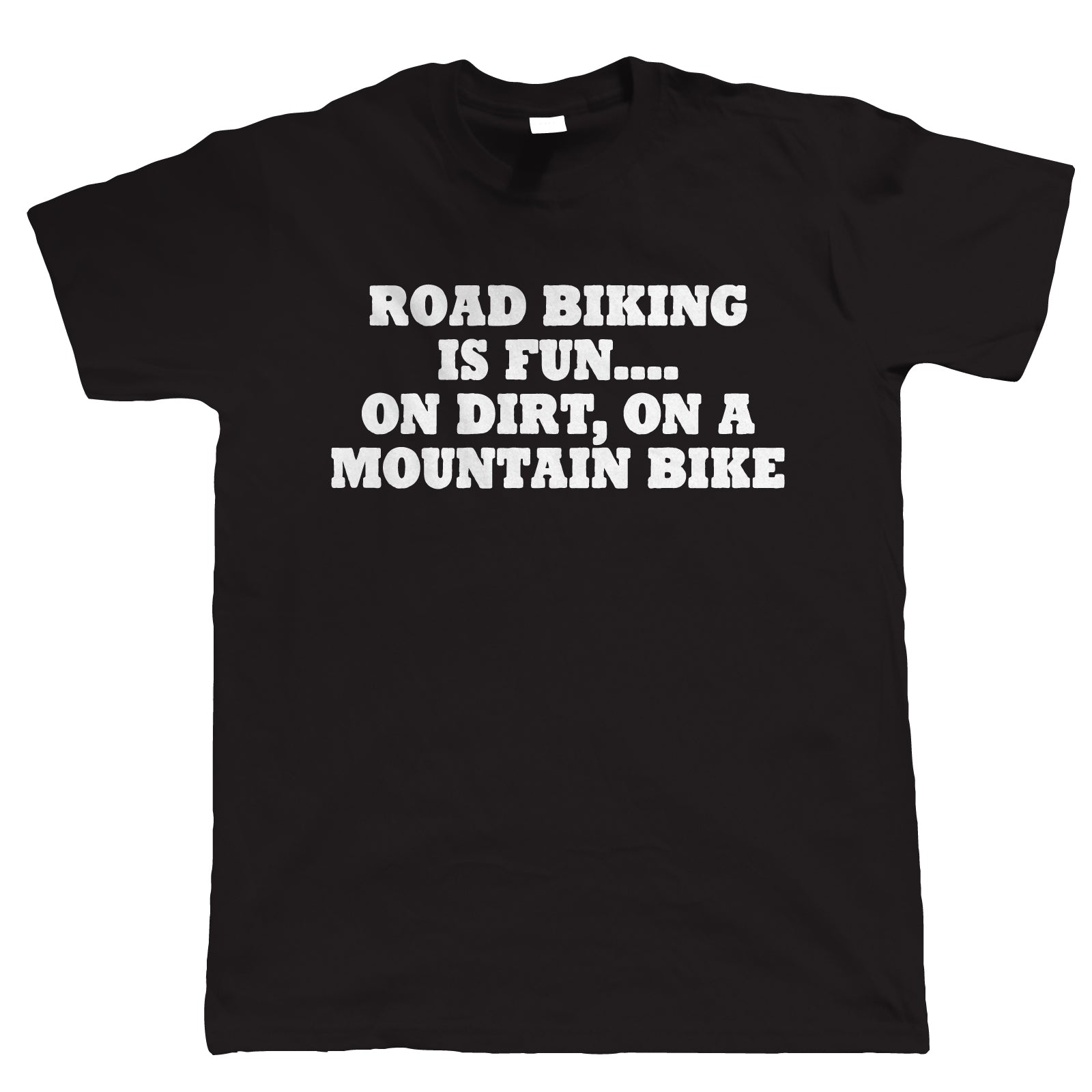 Road Biking Is Fun, Mens Funny T Shirt