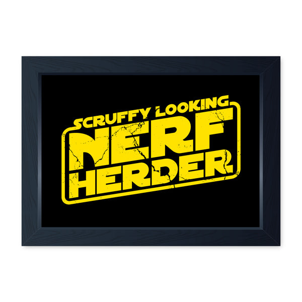Scruffy Looking Nerf Herder, Framed Or Frameless Poster Print - Movie Inspired