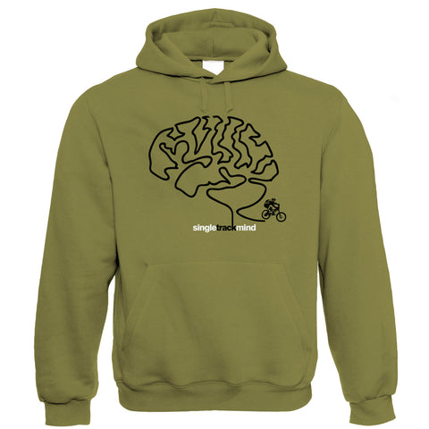 Singletrack Mind, Mens Mountain Bike Hoodie