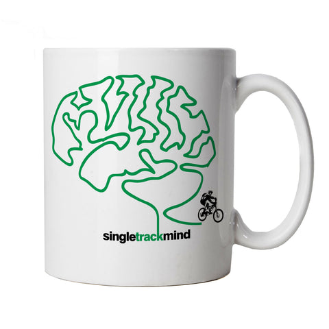 Singletrack Mind, Mountain Bike Mug
