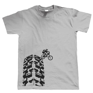 Single Track, Mens Mountain Bike T-Shirt