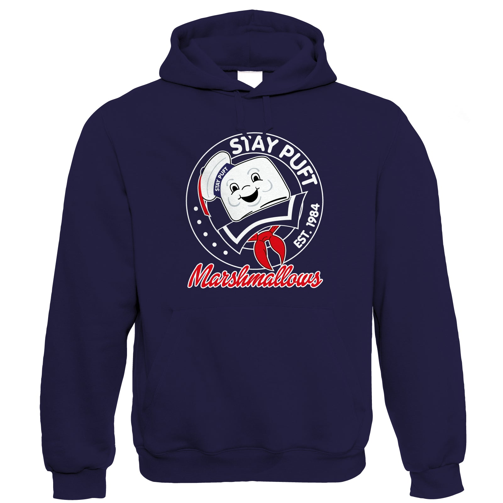 Stay Puft Movie Inspired Funny Hoodie | Action Adventure Horror Sci-Fi Thriller Comedy Spy | Humour Laughter Sarcasm Jokes Messing Comedy | TV & Movie Gift Him Her Birthday
