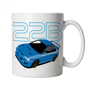 Scooby Rally Car Mug