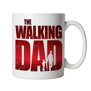 The Walking Dad Mug | Breaking Walking Bad American Dead Gods Heroes | Ideal Top Best Special No1 Father Husband Grandad | Funny Cup Gift