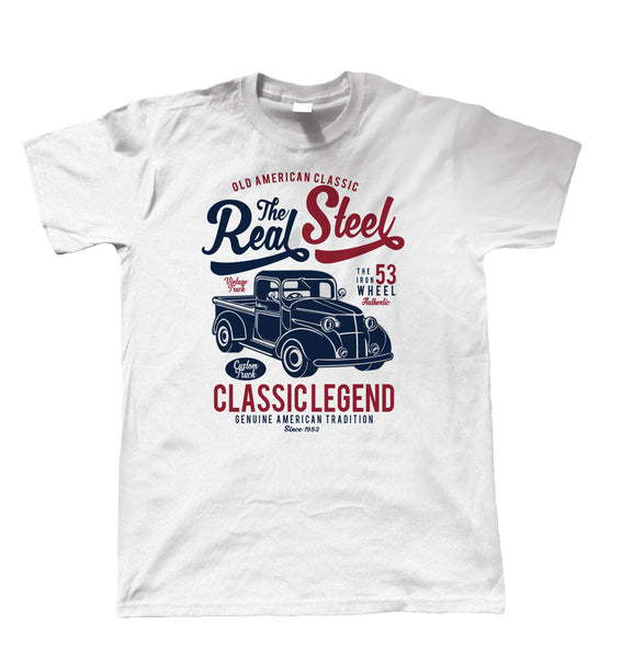 The Real Steel, Mens T Shirt
