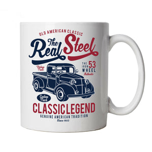 The Real Steel, Mug