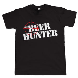 The Beer Hunter, Funny Mens Drinking T-Shirt