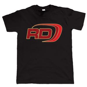 RD Logo, Mens Biker T Shirt | Motorbike Enthusiast Vintage Modern Classic Motorcycle Club 2 Two Stroke Cafe Racer Superbike Gentleman Biker | Cool Birthday Christmas Gift Present Him Dad Husband Son