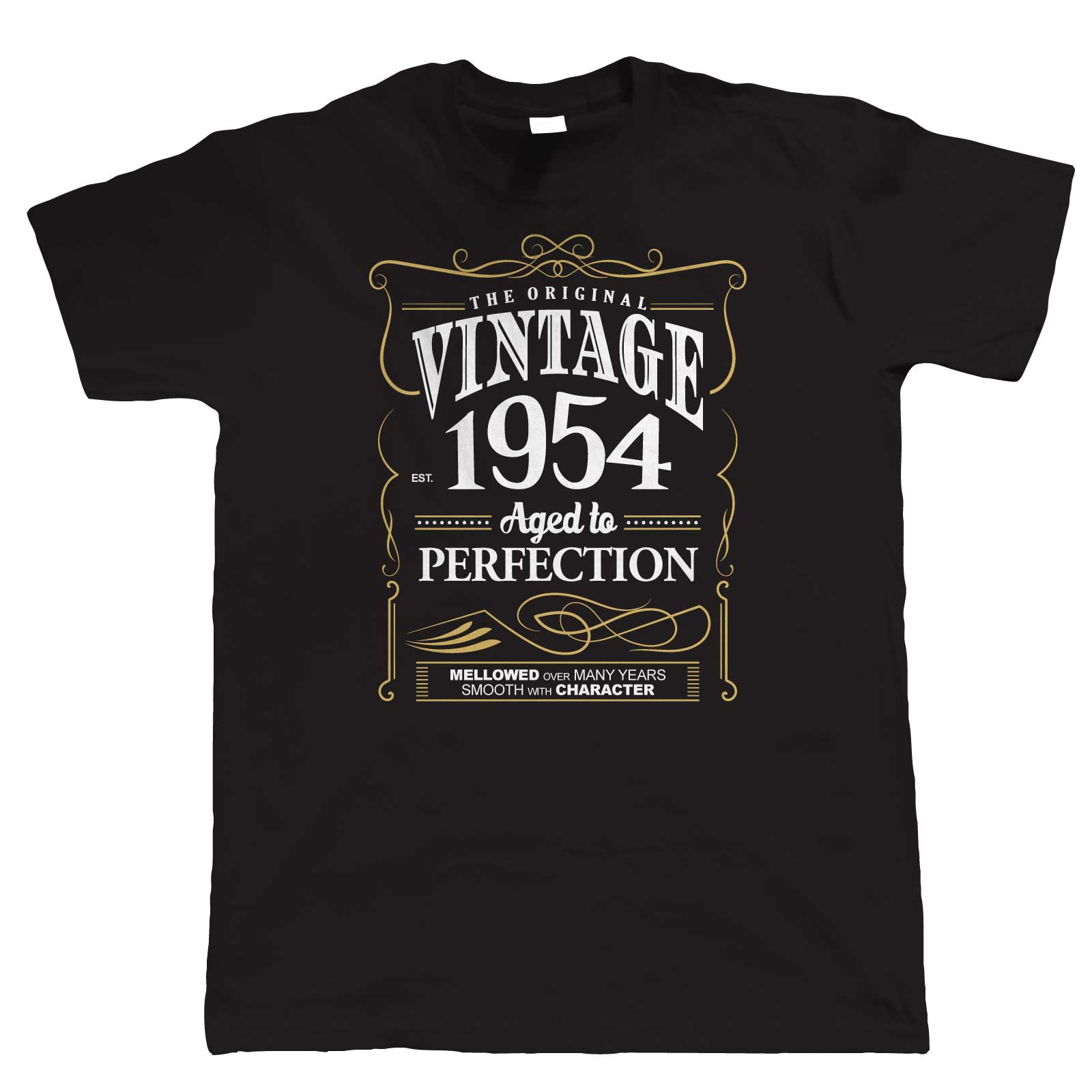 Vintage 1954 Aged To Perfection, Mens T Shirt