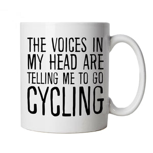 Voices In My Head Cycling, Mug