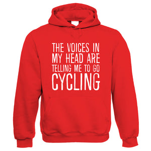 Voices In My Head Cycling, Funny Hoodie