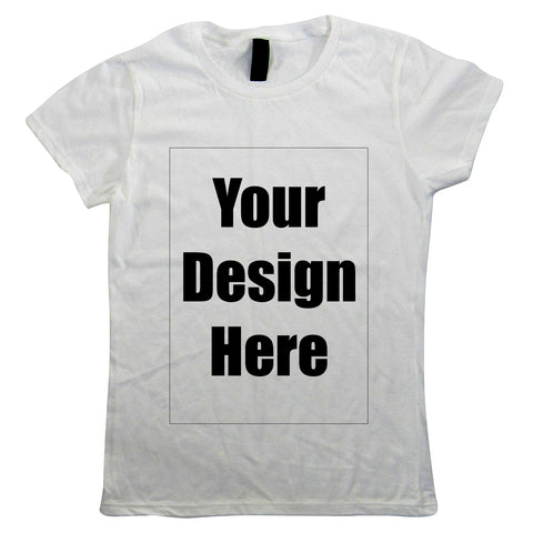 Design & Create Your Own Custom Womens Tee