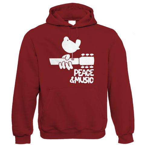 Woodstock Peace and Music Hoodie