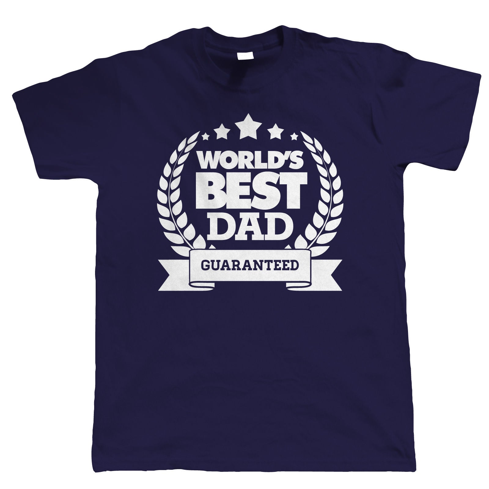 World's Best Dad, T Shirt Christmas Gift For Dad