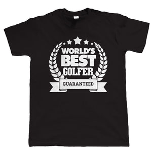 World's Best Golfer, Mens Golf T Shirt