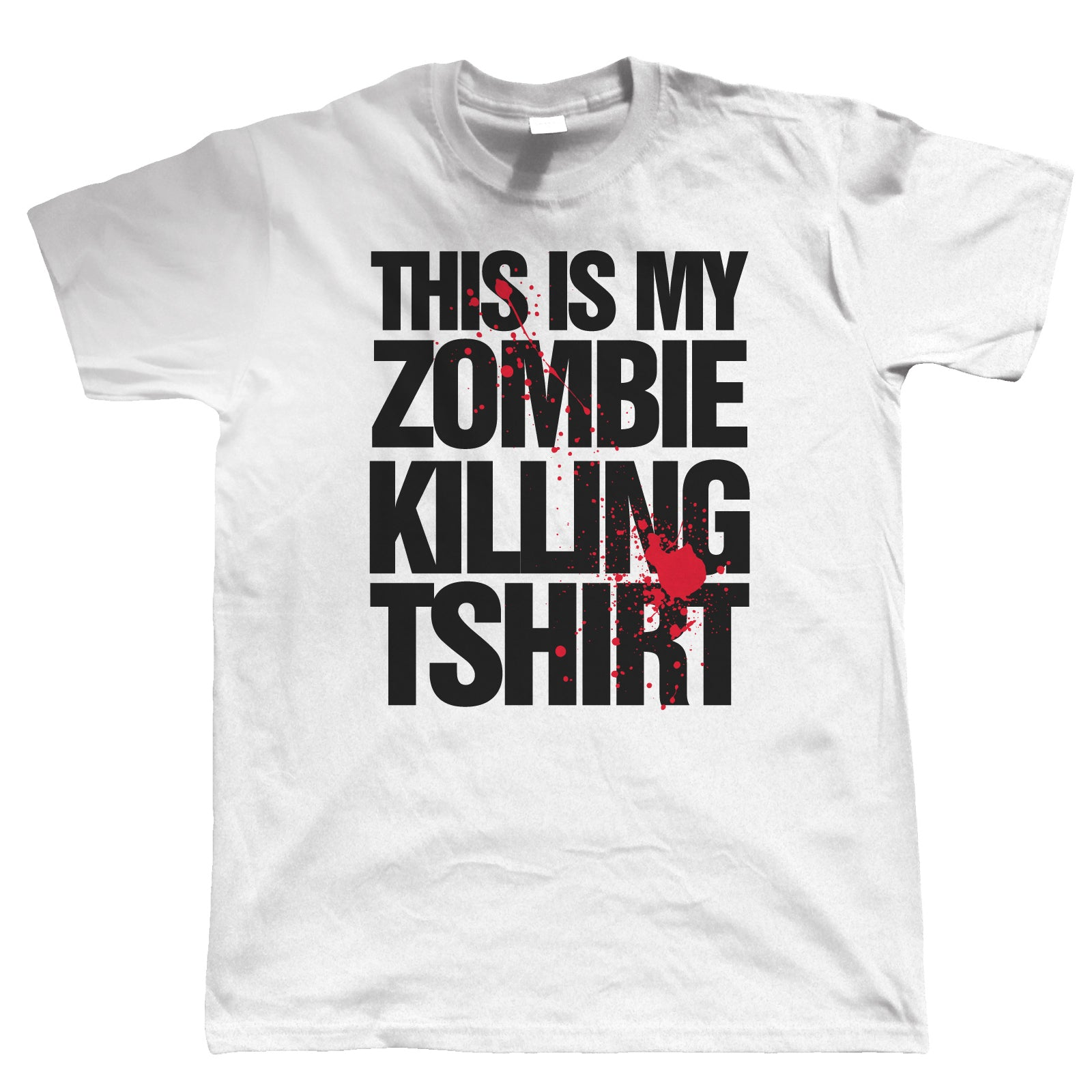 This Is My Zombie Killing T Shirt, Mens Horror T Shirt