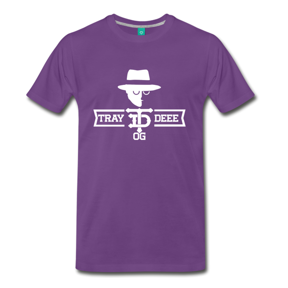 Tray Deee OG T-Shirt - purple