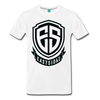 Eastsidaz Black Logo T-Shirt - white