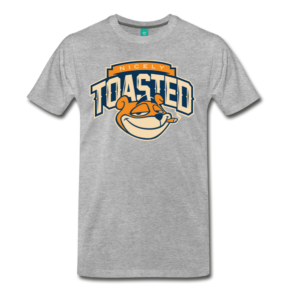 Nicely Toasted T-Shirt - heather gray