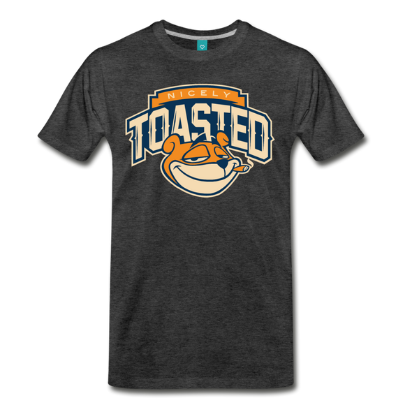Nicely Toasted T-Shirt - charcoal gray