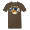 Nicely Toasted T-Shirt - noble brown