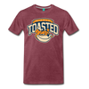 Nicely Toasted T-Shirt - heather burgundy