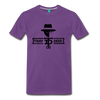 Tray Deee OG Black Logo T-Shirt - purple